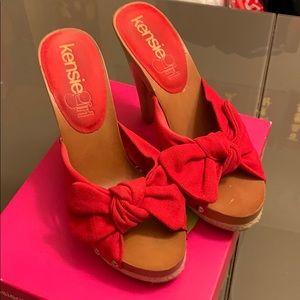 Kensie platform heel sandal